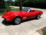 1968 Chevrolet Corvette 427 L68 400hp Tri Power